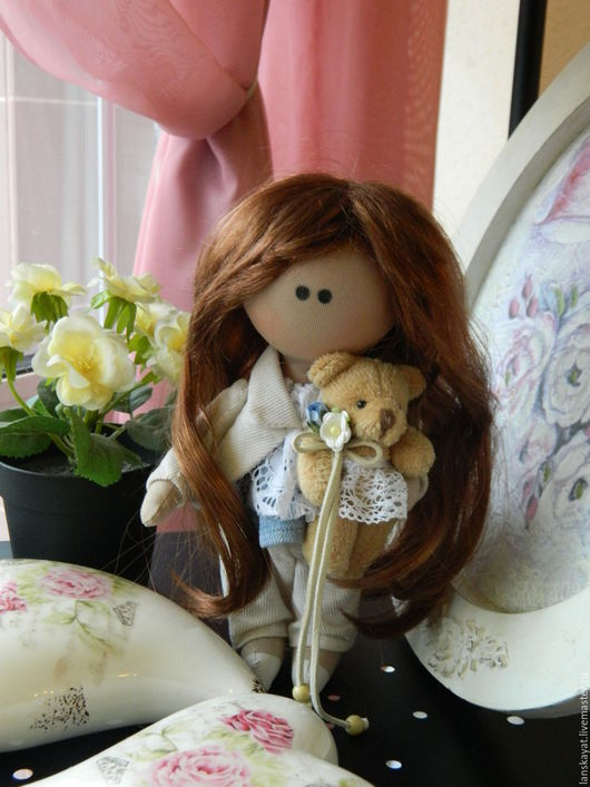 Человечки ручной работы. Ярмарка Мастеров - ручная работа. Купить Куколка Тося. Handmade. Куклы ручной работы, подарок
