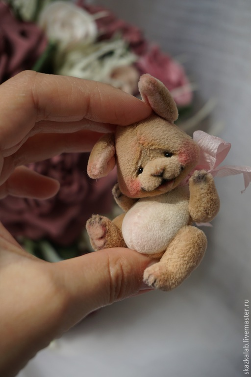 Мишки Тедди ручной работы. Ярмарка Мастеров - ручная работа. Купить Joy. Handmade. Кремовый, авторский, бамбуковое волокно