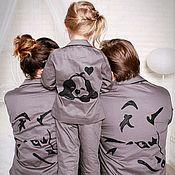 Работы для детей, handmade. Livemaster - original item Pajamas for a boy or a girl. Handmade.