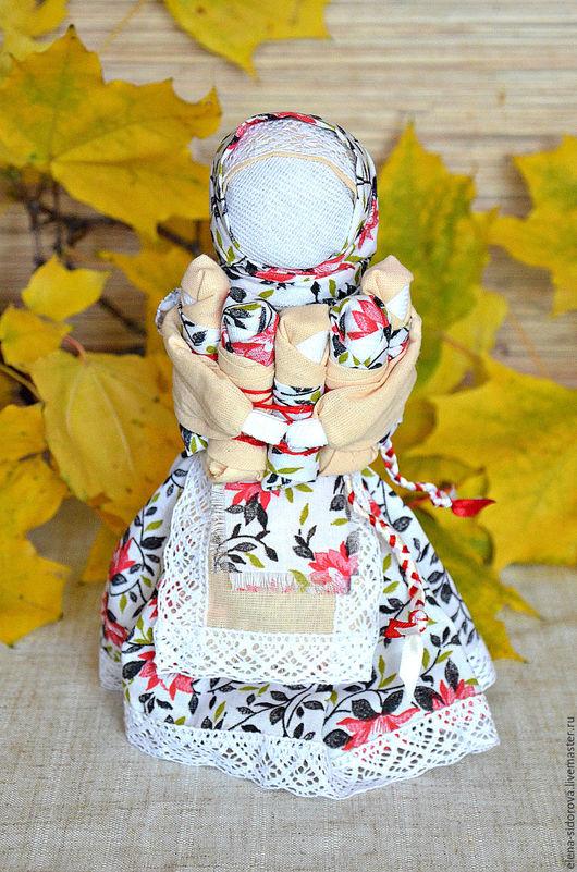 """Народные куклы ручной работы. Ярмарка Мастеров - ручная работа. Купить Кукла-оберег """"СемьЯ"""" (Московка, Плодородие). Handmade. Комбинированный"""