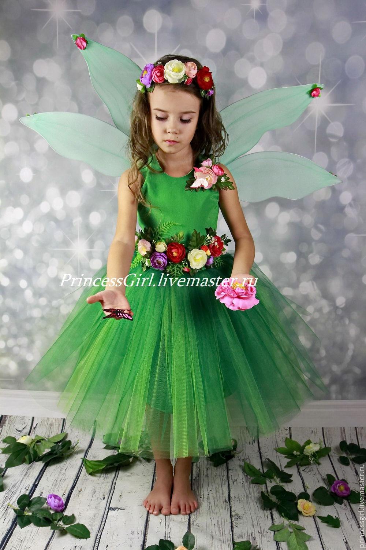 Платье костюм феи