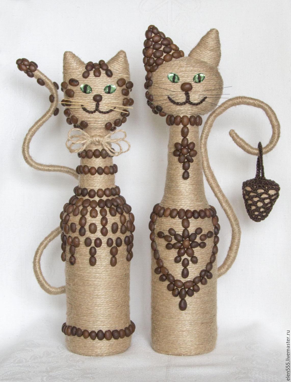 Кошка из джута 145