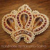 Украшения ручной работы. Ярмарка Мастеров - ручная работа корона монарха. Handmade.