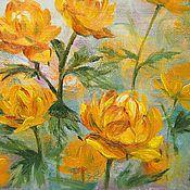Картины и панно handmade. Livemaster - original item Lights, oil painting. Handmade.