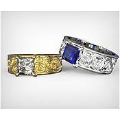 Свадебный салон handmade. Livemaster - original item Wedding rings