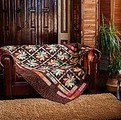 Для дома и интерьера handmade. Livemaster - original item Quilted Patchwork Bedspread
