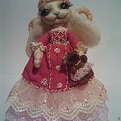Куклы и игрушки ручной работы. Ярмарка Мастеров - ручная работа зайка барышня Душечка. Handmade.