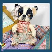 Подарки к праздникам ручной работы. Ярмарка Мастеров - ручная работа Валяная игрушка щенок Люси. Handmade.