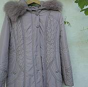 Одежда ручной работы. Ярмарка Мастеров - ручная работа плащ пальто демисезонное с капюшоном. Handmade.