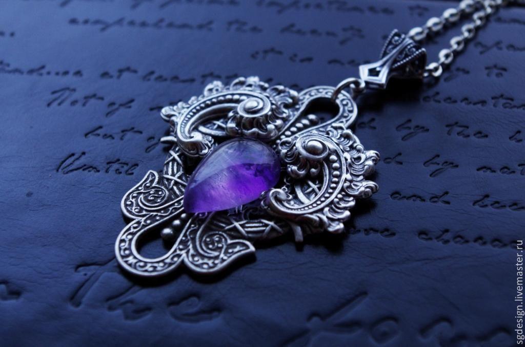 Suspension Vita Purple amethyst, Pendants, Yalta,  Фото №1