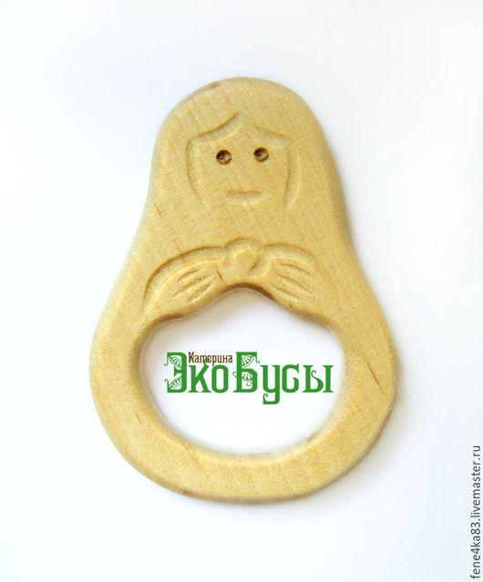 """Куклы и игрушки ручной работы. Ярмарка Мастеров - ручная работа. Купить Грызунок деревянный """"Матрешка"""". Handmade. Матрешка, из дерева, грызунок"""