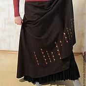 Одежда ручной работы. Ярмарка Мастеров - ручная работа Юбка с подъюбником в стиле Модерн. Handmade.