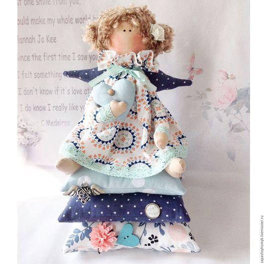 Ярмарка мастеров - ручная работа. Куклы и игрушки ручной работы. Купить Принцесса на горошине Тильда. Скандинавский стиль украшение детской комнаты. Handmade. Кукла тильда