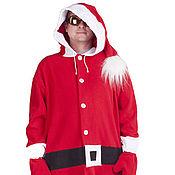 Одежда handmade. Livemaster - original item Santa Claus Kigurumi - Custom Handmade - Anti-pill Fleece Pyjamas. Handmade.
