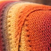 Аксессуары handmade. Livemaster - original item Shawl Autumn (Danish shawl traditional). Handmade.