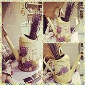 Цветы и флористика ручной работы. Ярмарка Мастеров - ручная работа Лейка Завтрак в Провансе. Handmade.