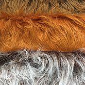 Мех ручной работы. Ярмарка Мастеров - ручная работа Мех искусственный 30х50см длинноворсовый для париков, бород. Handmade.