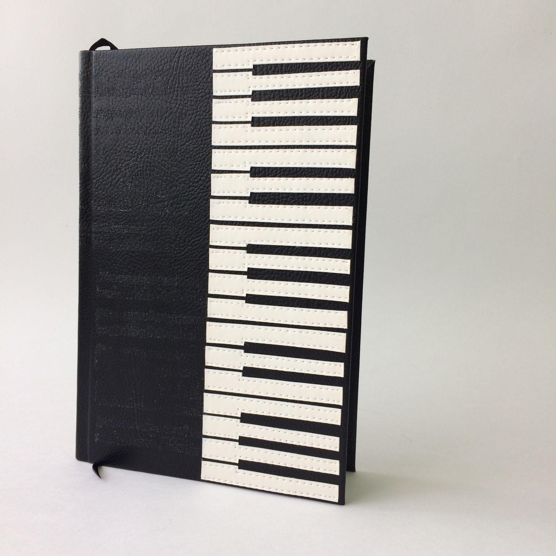 Personalized piano journal, piano keyboard journal, music notebook, pi, Notebooks, Anapa,  Фото №1