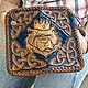 Men's leather wallet 'bear King'. Wallets. schwanzchen. Online shopping on My Livemaster.  Фото №2