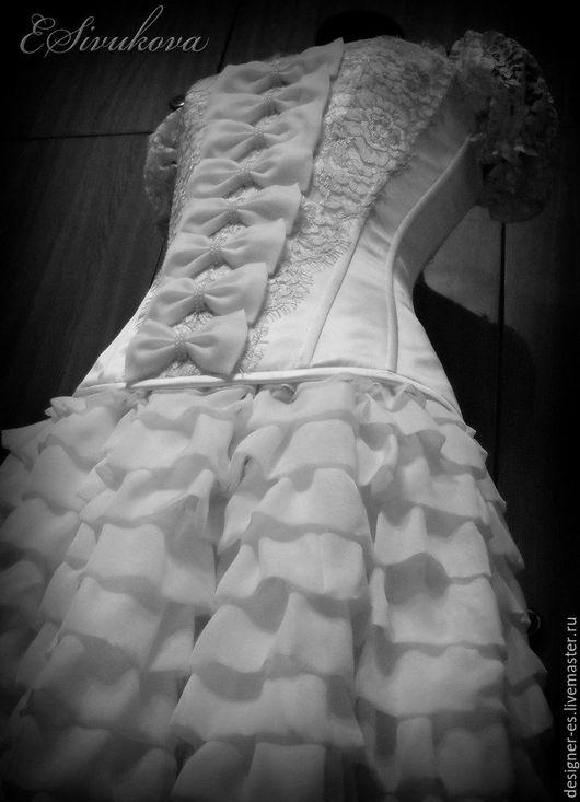 Платья ручной работы. Ярмарка Мастеров - ручная работа. Купить Свадебное платье. Handmade. Белый, свадебное платье, платье на свадьбу