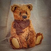Куклы и игрушки handmade. Livemaster - original item Teddy bear - Stepan, Teddy bear from German mohair. Handmade.