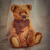 Мишки Тедди ручной работы. Ярмарка Мастеров - ручная работа Тедди мишка - Степан, тедди мишка из немецкого мохера. Handmade.