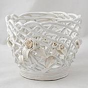 Цветы и флористика handmade. Livemaster - original item Planters Renaissance. Handmade.
