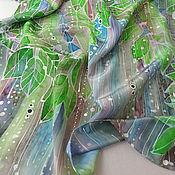 Аксессуары handmade. Livemaster - original item Batik, silk scarf