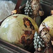 Подарки к праздникам handmade. Livemaster - original item Christmas decorations, Treasures from grandma,. Handmade.