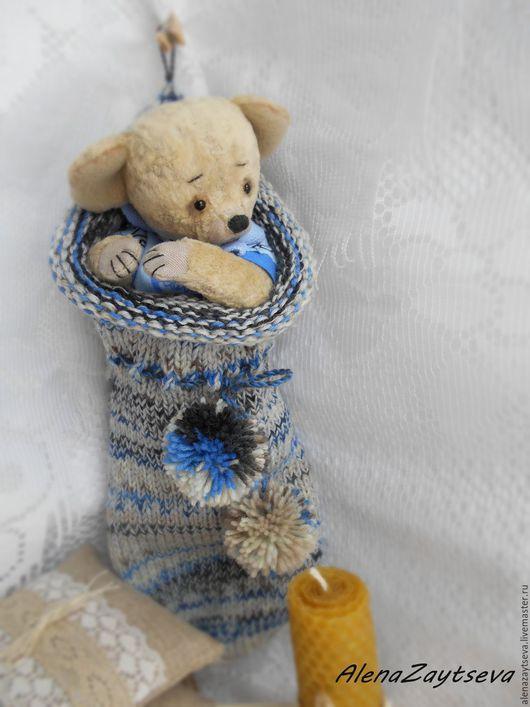 Мишки Тедди ручной работы. Ярмарка Мастеров - ручная работа. Купить Необычный домик для мышонка))). Handmade. Серый, мышонок