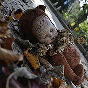 """Куклы и игрушки ручной работы. Ярмарка Мастеров - ручная работа тедди-долл """"Осенний сон"""". Handmade."""