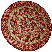 Русский стиль ручной работы. Ярмарка Мастеров - ручная работа панно декоративное круглое. Handmade.