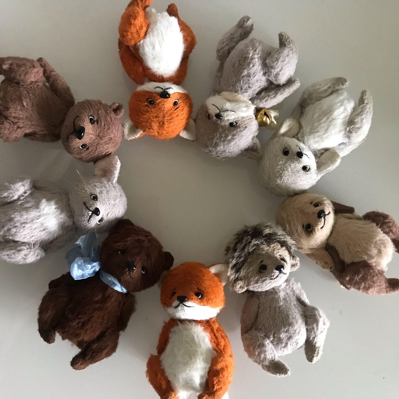 Тедди малыши 6-7 см, Мишки Тедди, Москва,  Фото №1