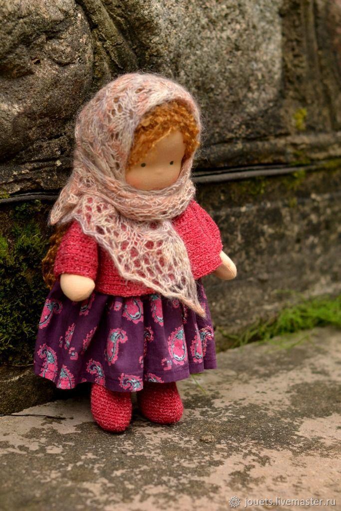 Вальдорфская игрушка ручной работы. Ярмарка Мастеров - ручная работа. Купить Девочка, 30см. Handmade. Кукла детская, кукла для девочки