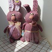 Для дома и интерьера ручной работы. Ярмарка Мастеров - ручная работа Лавандовые зайцы. Handmade.