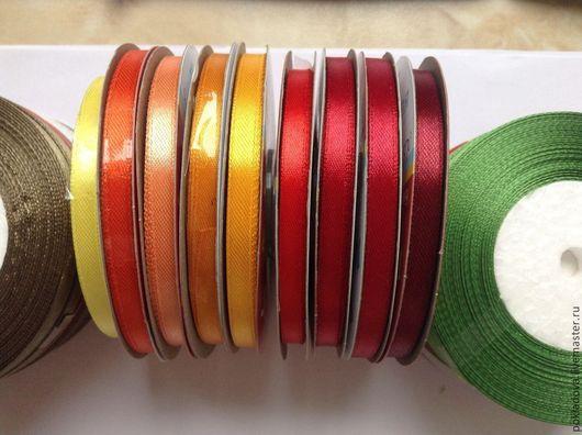 Аппликации, вставки, отделка ручной работы. Ярмарка Мастеров - ручная работа. Купить Лента атласная 6 мм(30 м). Handmade.