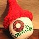 """Новый год 2018 ручной работы. Ярмарка Мастеров - ручная работа. Купить Елочная игрушка из натуральной тыквы """"Домик Хоббита"""". Handmade."""