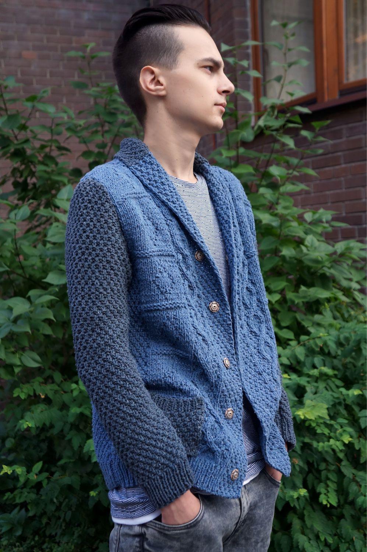 пиджак мужской вязаный купить в интернет магазине на ярмарке