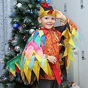 """Работы для детей, ручной работы. Ярмарка Мастеров - ручная работа Костюм """"Петух Петушок"""" новогодний театральный карнавальный. Handmade."""