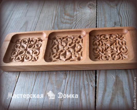 Форма для пряников и печений наборная Три орнамента
