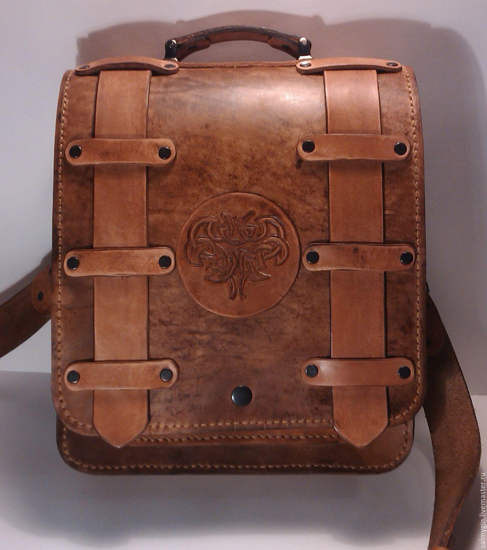 758fd08302c9 Мужские сумки ручной работы. Ярмарка Мастеров - ручная работа. Купить Мужская  сумка состаренная.