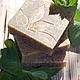 """Мыло ручной работы. Мыло с нуля """"Мята"""". Saponaria (Yuliasoap). Ярмарка Мастеров. Мыло натуральное, мыло для всех типов кожи"""
