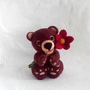 Куклы и игрушки ручной работы. Ярмарка Мастеров - ручная работа Милый мишка. Handmade.