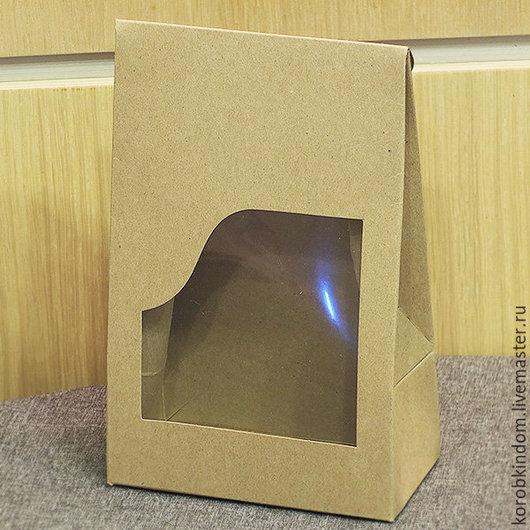 Упаковка ручной работы. Ярмарка Мастеров - ручная работа. Купить Коробочка-пакетик 12х19х6 см. Handmade. Коробочка, коробка для рукоделия