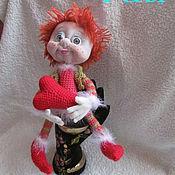 Куклы и игрушки ручной работы. Ярмарка Мастеров - ручная работа Рыжик-охранитель влюбленных сердец. Handmade.