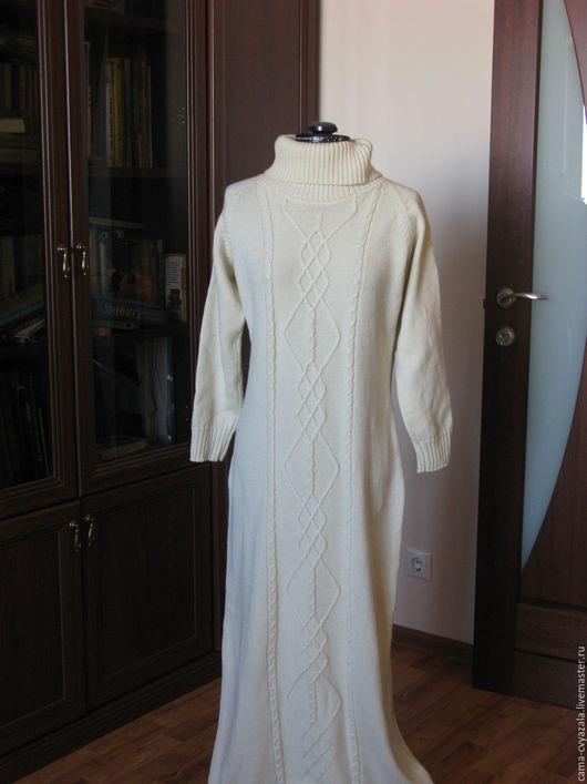 Платья ручной работы. Ярмарка Мастеров - ручная работа. Купить платье из мериносовой шерсти. Handmade. Белый, белое платье