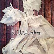 """Комбинации ручной работы. Ярмарка Мастеров - ручная работа Будуарное платье,рукава """"бабочка"""". Handmade."""