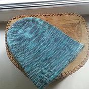 Работы для детей, ручной работы. Ярмарка Мастеров - ручная работа Меланжевая шапочка-бини. Handmade.