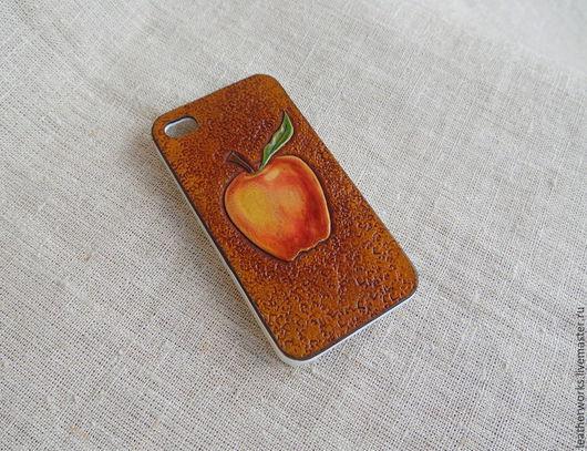Для телефонов ручной работы. Ярмарка Мастеров - ручная работа. Купить Бампер  для Apple. Handmade. Чехол, iphone 5, яблоко