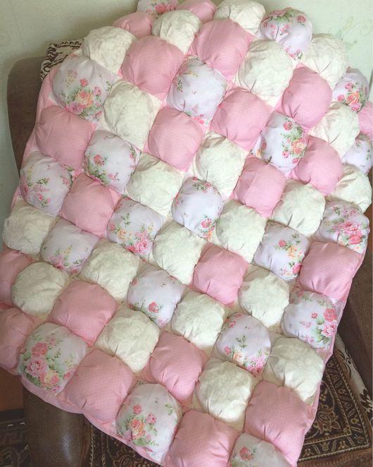 Пледы и одеяла ручной работы. Ярмарка Мастеров - ручная работа. Купить Бомбон одеяло. Handmade. Бомбон одеяло